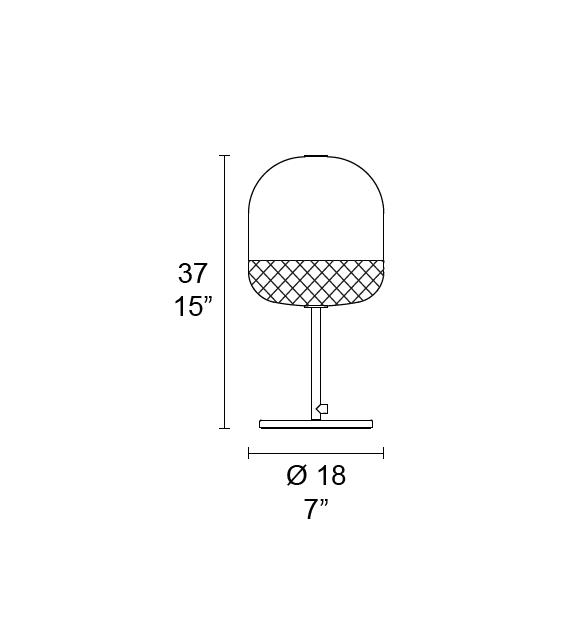Balloton 7213/L1 Mini MMLampadari Tischleuchte