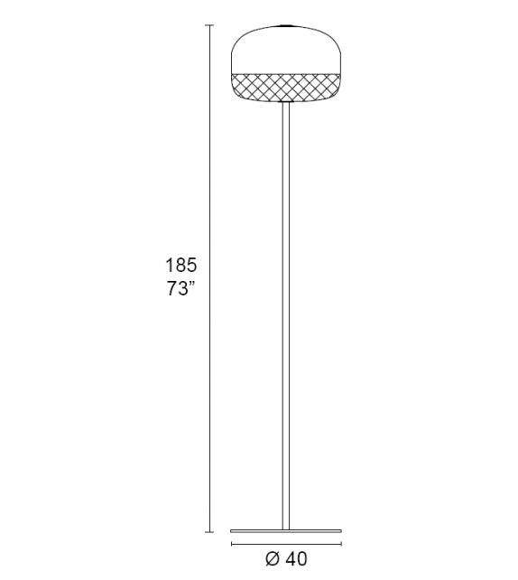 Balloton 7211/LT1 MMLampadari Stehleuchte