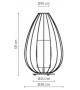 Cell Karman Lámpara de Mesa