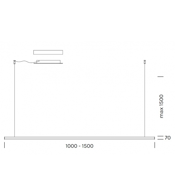 Poly Linear Olev Suspension Lamp
