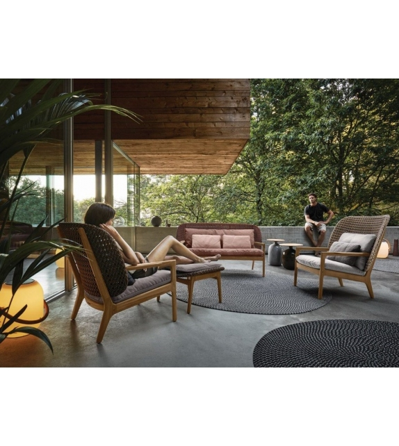 Kay Gloster Poltrona Lounge