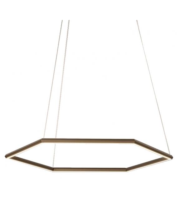 Poly Esagono Olev Suspension Lamp