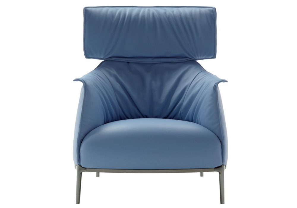 Archibald king armchair poltrona frau milia shop for Chaise longue frau