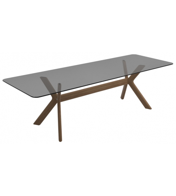 X - Frame Gloster Table