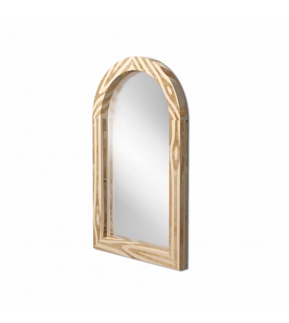 Forest Scarlet Splendour Mirror