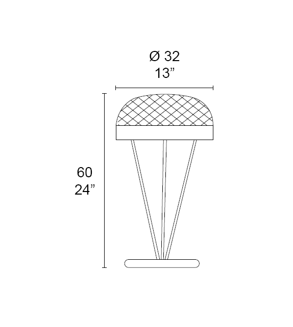 Rays 7209/L3 MMLampadari Lampe de Table