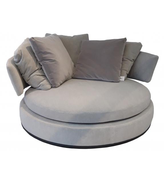 Ready for shipping - Amoenus Soft Maxalto Swivel Sofa