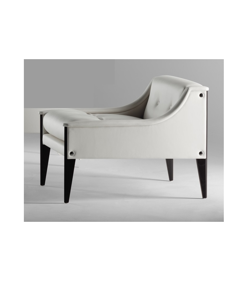 Dezza armchair 12 poltrona frau milia shop for Chaise longue frau