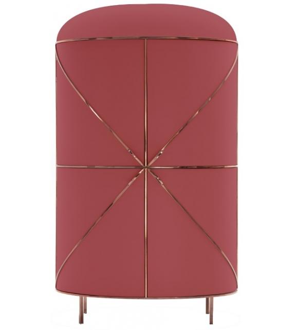 88 Secrets Bar Scarlet Splendour Cabinet