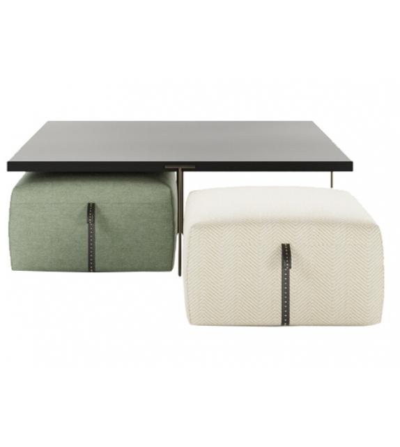 Hidden Island Liu Jo Coffee Table & Pouf