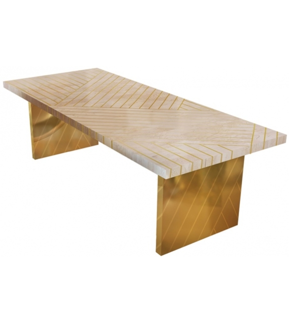 Nesso Scarlet Splendour Table