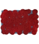 Rectangular Scarlet Splendour Tapis