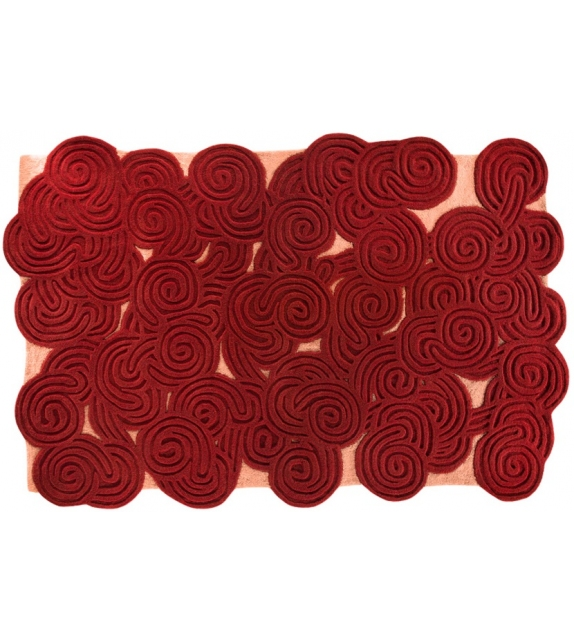 Rectangular Scarlet Splendour Rug