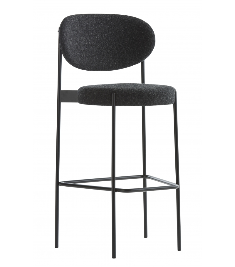 Series 430 Verpan Set von 2 Bar Hocker