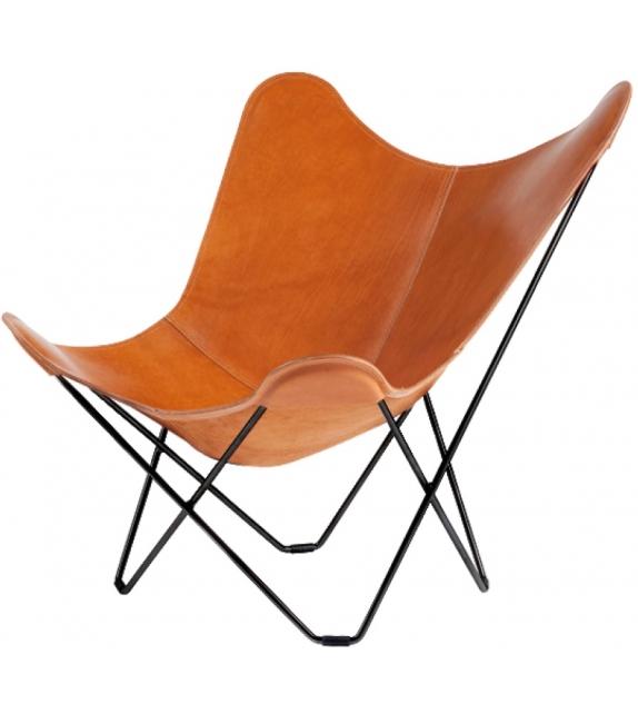 Pampa Mariposa Cuero Design Stuhl