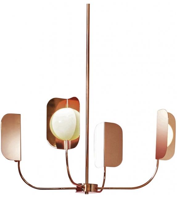 Leaf  7208/4 MMLampadari Lámpara de Suspensión