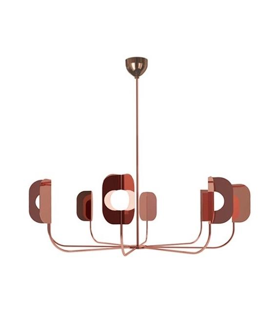 Leaf  7208/8 MMLampadari Lámpara de Suspensión