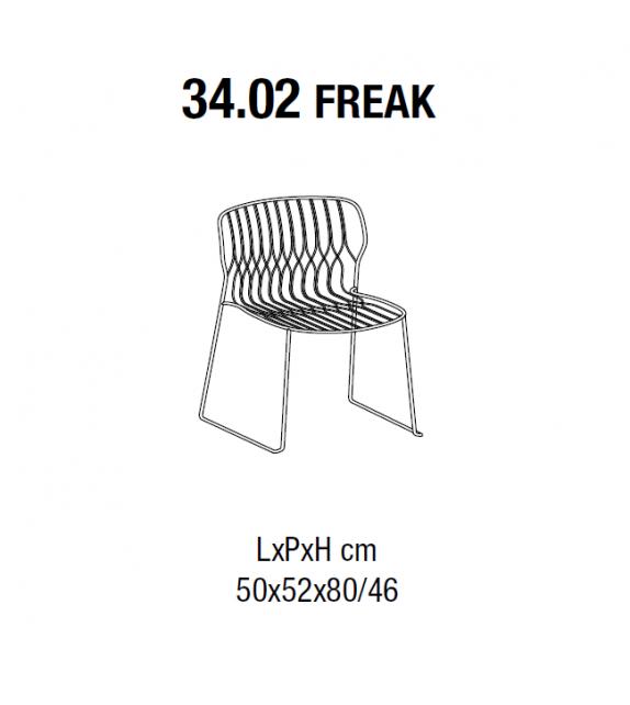 Freak Bontempi Chair