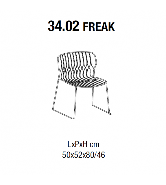 Freak Bontempi Chaise