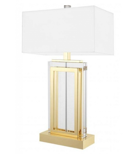 Arlington Crystal Eichholtz Lámpara de Mesa