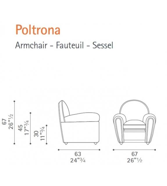 Baby Vanity Fair Poltrona Frau Poltroncina
