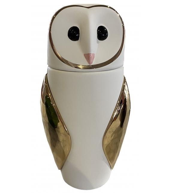 Versandfertig - Schleiereulen The Owls Vase Bosa