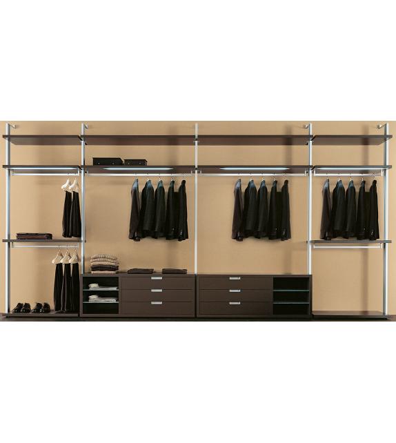 Vesta Henry Glass Modular Walk-In Closet