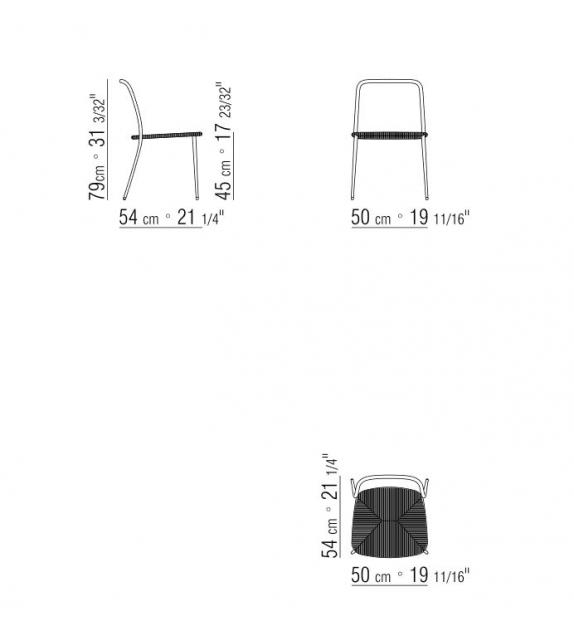 First Steps Outdoor Chaise Flexform