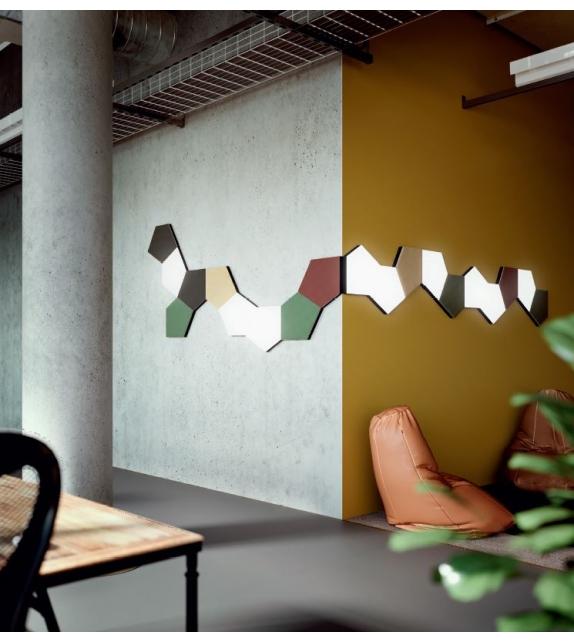 Tile Penta Wall Celling Lamp