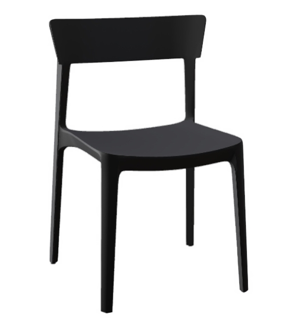 Ready for shipping - Skin Calligaris Chair