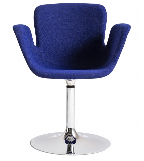 Juli Soft Cappellini Small Armchair with Goblet Base