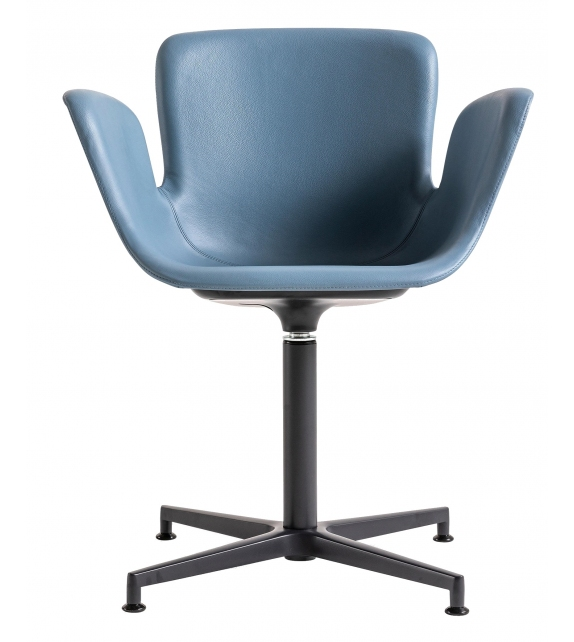Juli Soft Cappellini Small Armchair with 4 Star Base