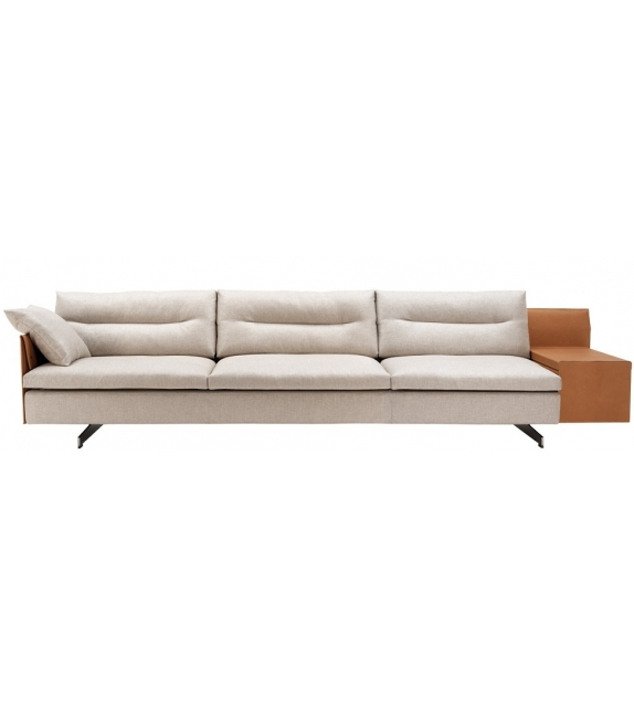 GranTorino 3 Seater Sofa Large Sofa High Arms Poltrona Frau