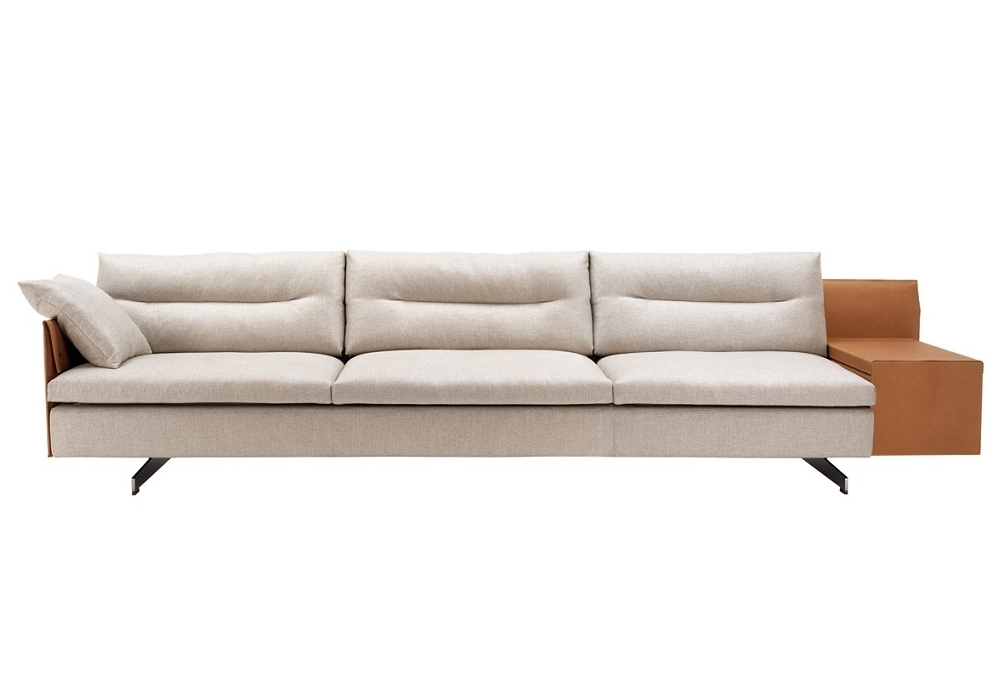 grantorino 3 seater sofa large sofa high arms poltrona frau milia shop. Black Bedroom Furniture Sets. Home Design Ideas