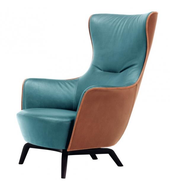 Mamy Blue Armchair Poltrona Frau