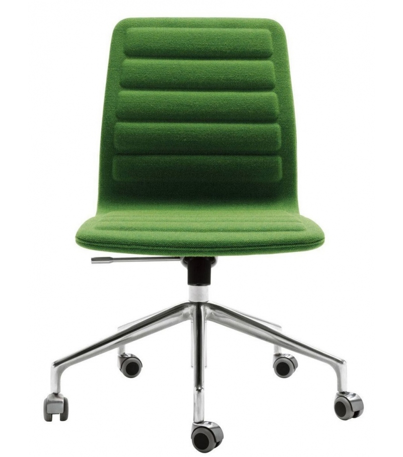 Lotus (Low) Chair On Wheels Cappellini