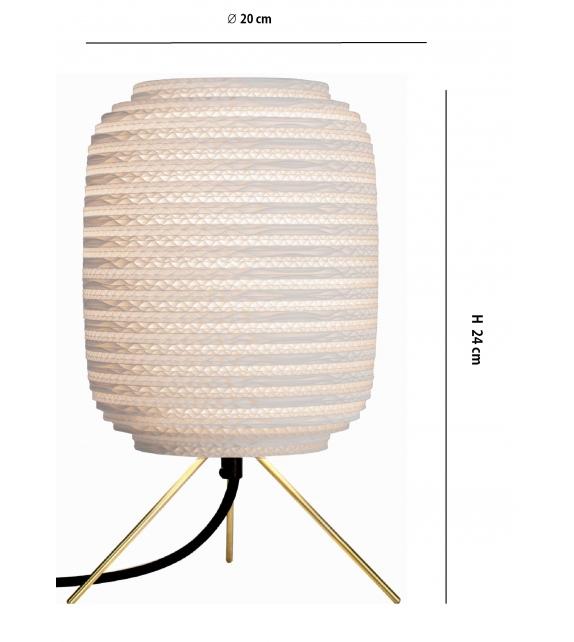 Ausi White Table Lamp
