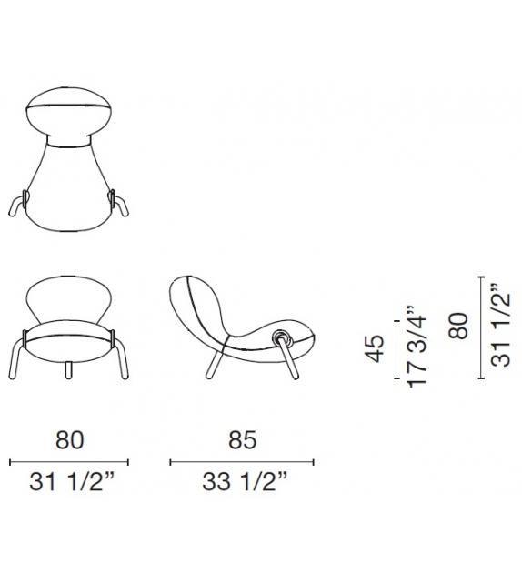 Embryo Chair armchair