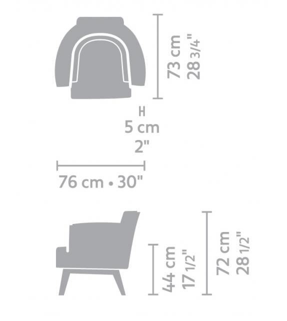 Azzano Linteloo Armchair
