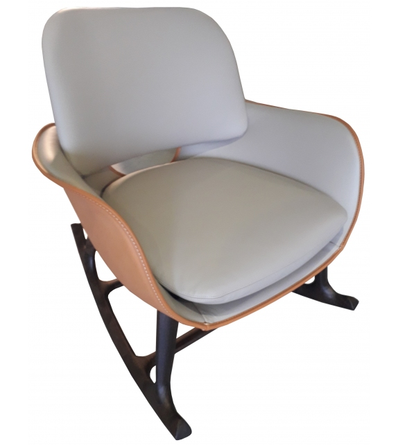 Ready for shipping - Martha Poltrona Frau Rocking Chair