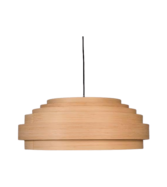 Thin Wood Ay Illuminate Lampada a Sospensione