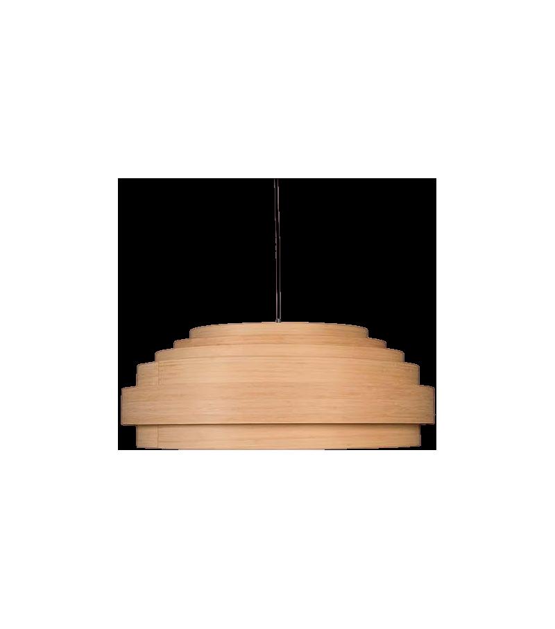 Thin Wood Ay Illuminate  Lampe à Suspension