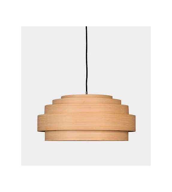 Thin Wood Ay Illuminate Pendant Lamp