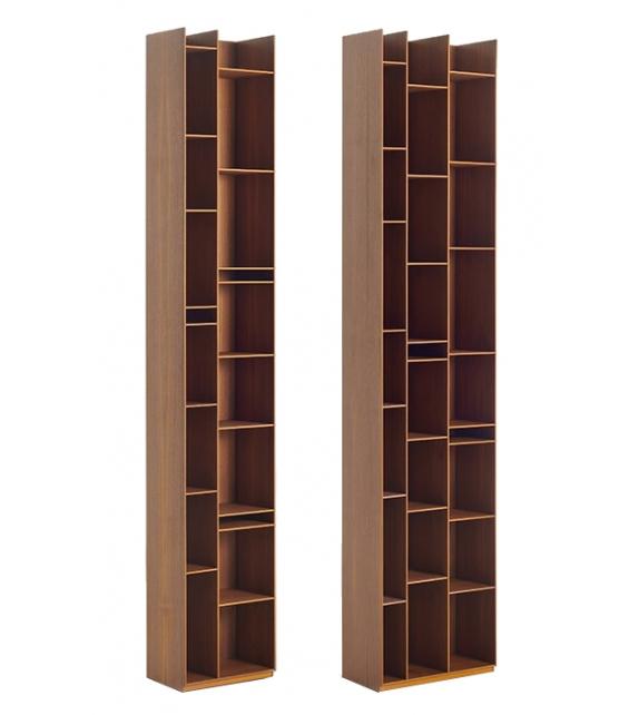 Random Wood 2C-3C MDF Italia Bibliothèque