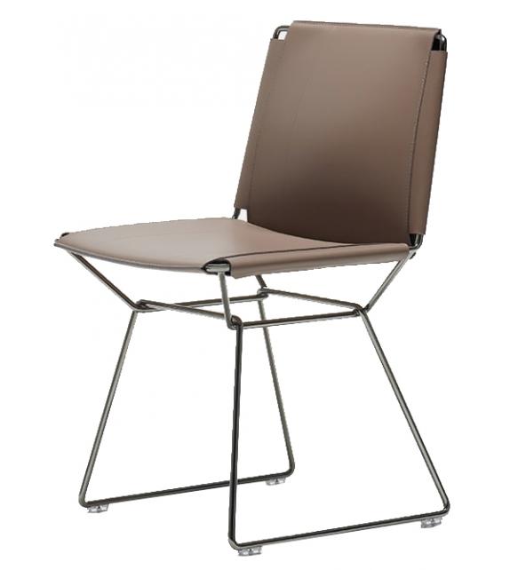 Neil Leather Chair MDF Italia Sedia