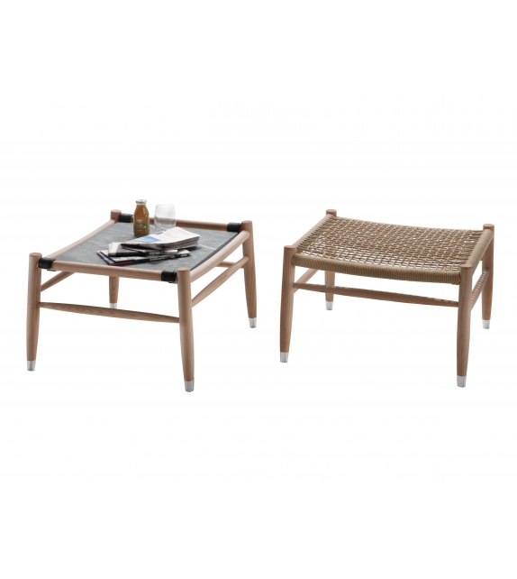Tessa Outdoor Flexform Pouf/Coffee Table