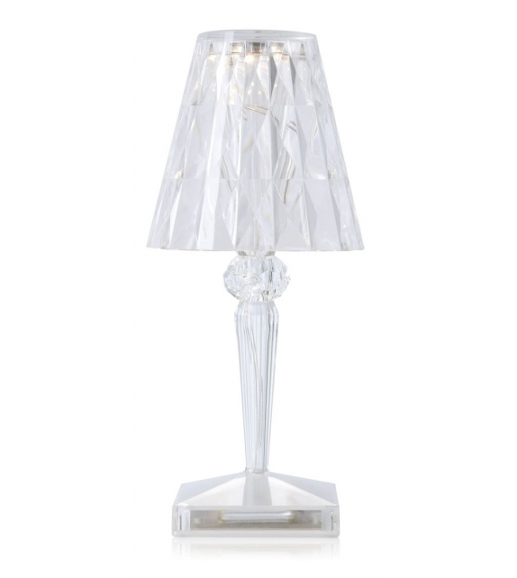 Ready for shipping - Battery Kartell Table Lamp