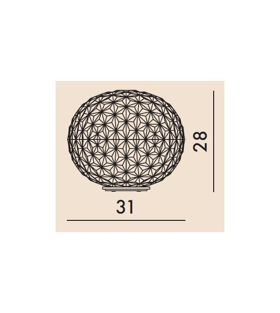 Planet Kartell Lampada da Tavolo