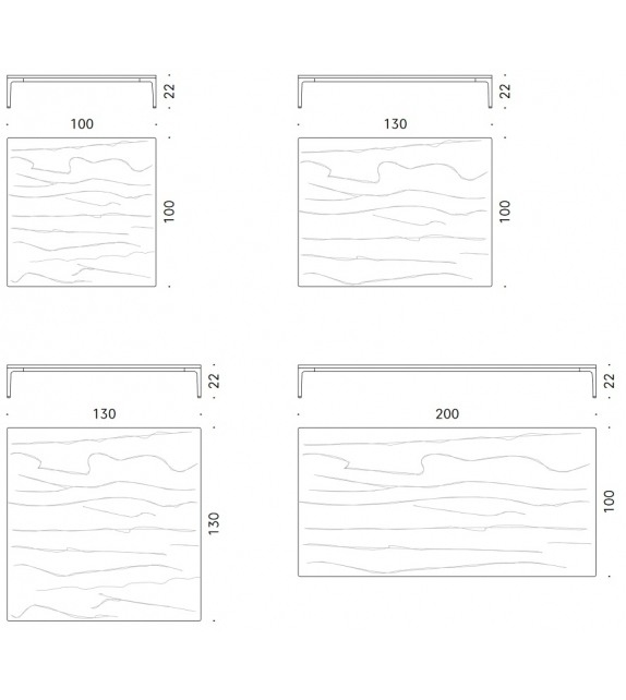 Horizontal DePadova Table Basse