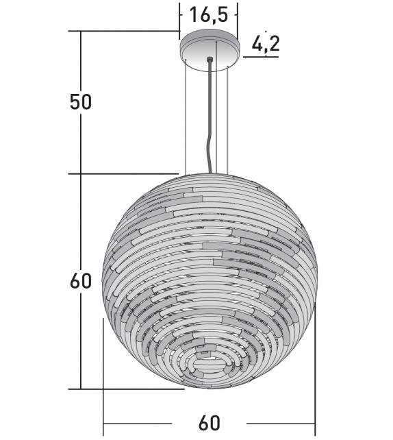 Gea Natevo Suspension Lamp